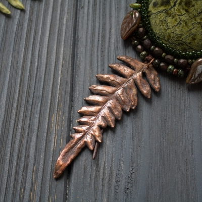 Primordial Forest necklace