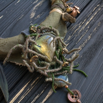 Witch of the Swampy Wasteland necklace