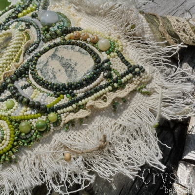 Nordsommer northern style textile boho necklace