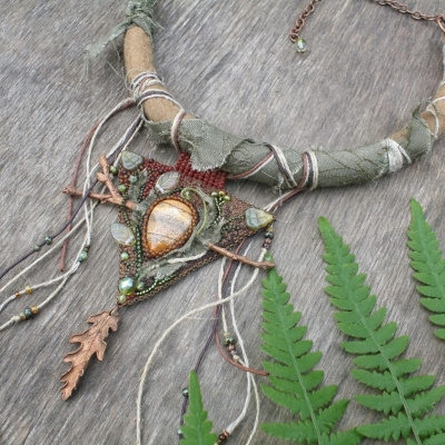 Earth Element necklace