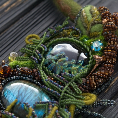 Earth Spirit  necklace
