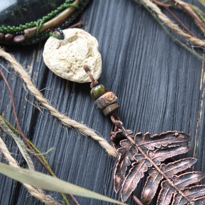 Wild forest witch necklace